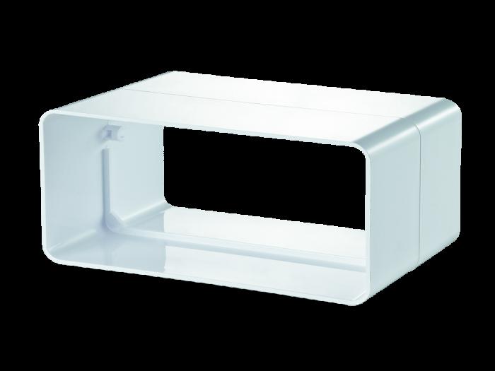Конектор за ПВЦ въздуховод 55 х 110 мм