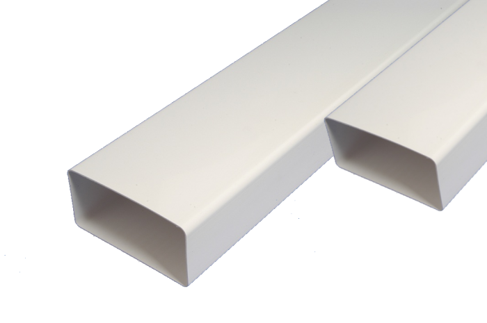 ПВЦ въздуховоди VENTS 55 x 110 mm